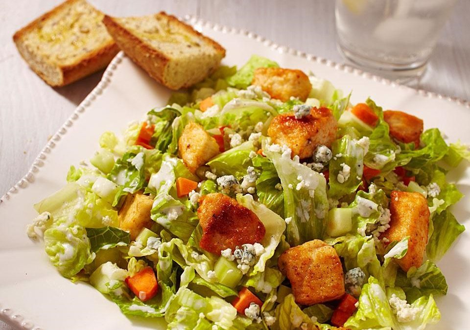 chicken buffalo salad""