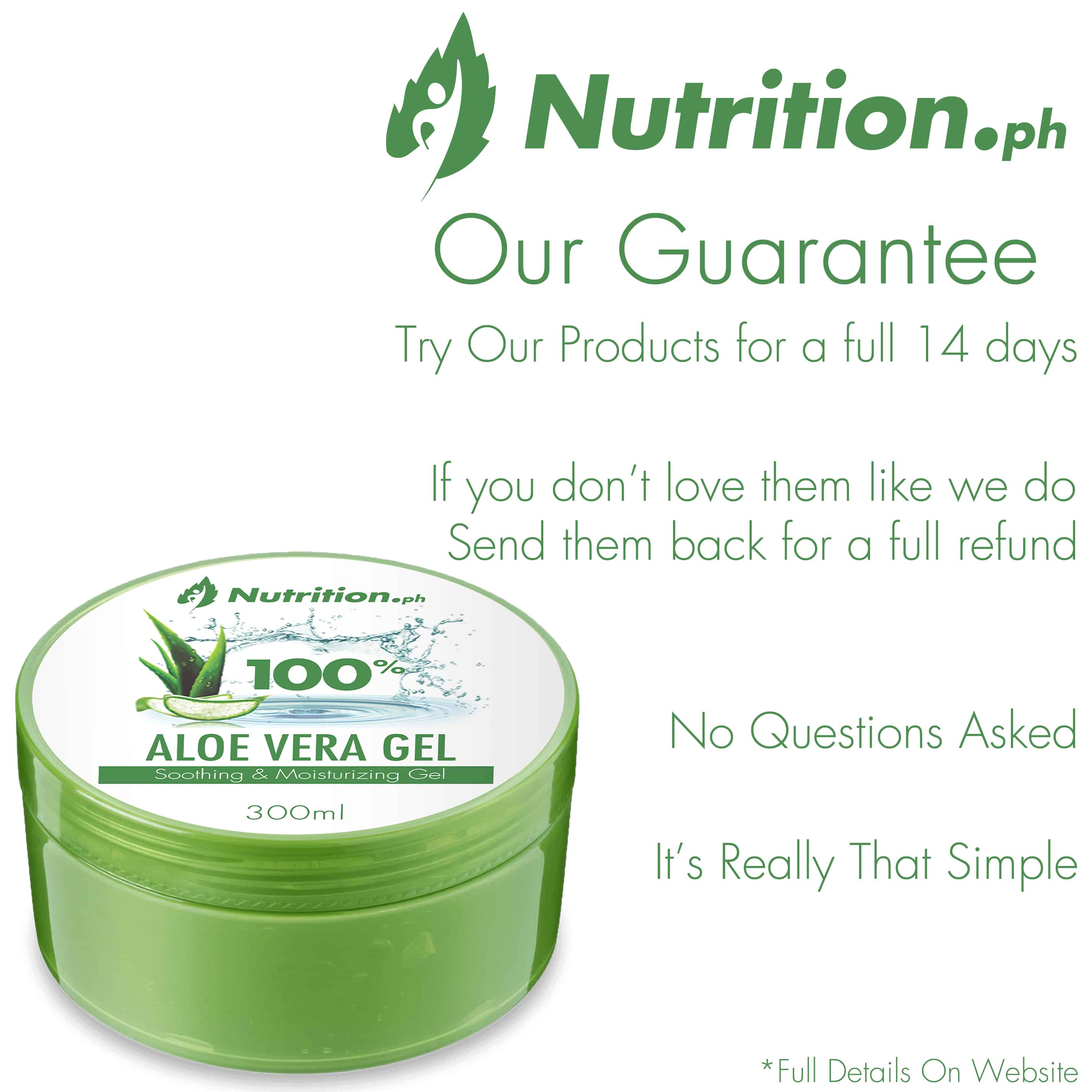 Aloe Our Guarantee